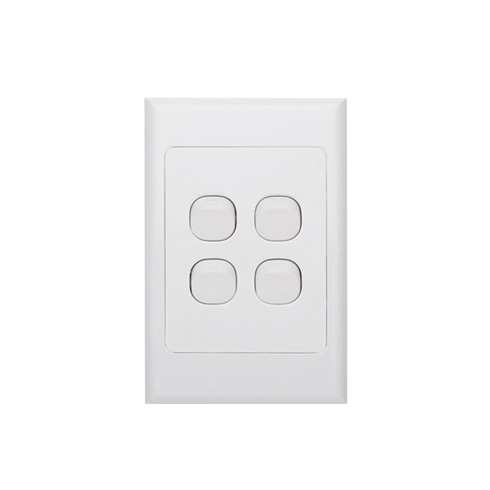 4 Gang Light Switch Choice Led